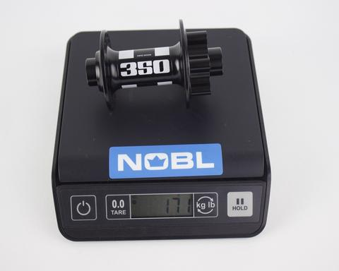 Actual Hub Weights - NOBL