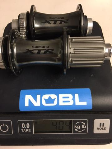 Actual Hub Weights Nobl