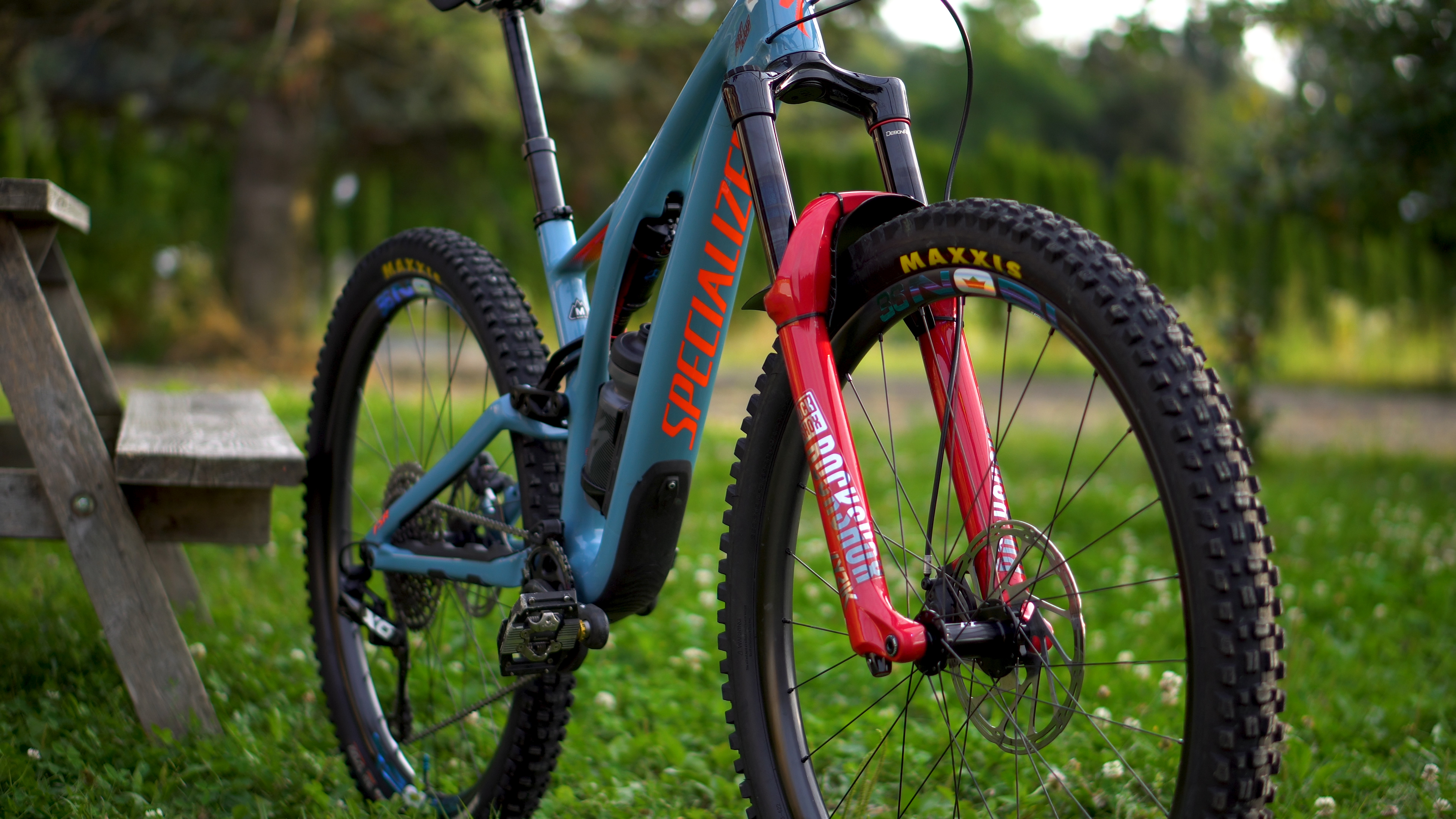 Specialized Stumpjumper Front View